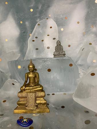 Buddha im ewigen Eis Jungfrauregion