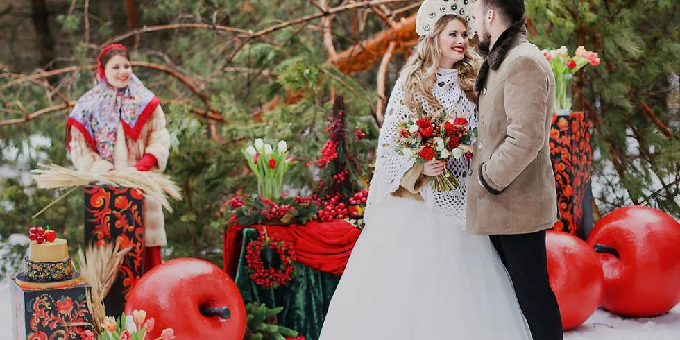 """Фотоконкурс """"Свадьба в русском стиле"""" - 2017"""
