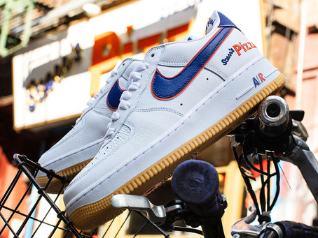 Kicks 4 The KULTURE : The Scarr's Pizza Nike Air Force 1