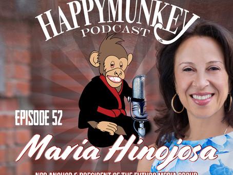 Happy Munkey Talk: Maria Hinojosa NPR Anchor And President of Futuro Media Group