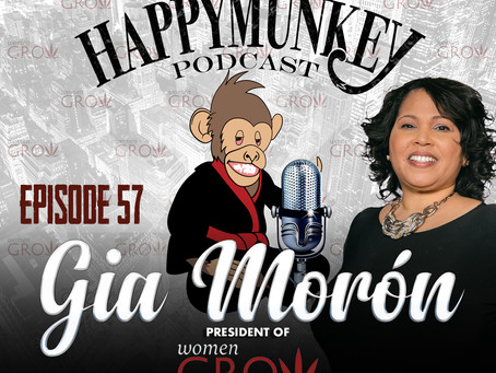 Happy Munkey Talk: Gia Morón President of Women Grow