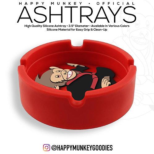 Happy Munkey Ashtrays