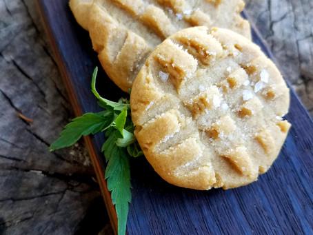 Cannabis Bacon Fat Peanut Butter Cookies