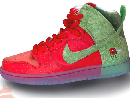 Kicks 4 Da Kulture: Strawberry Cough