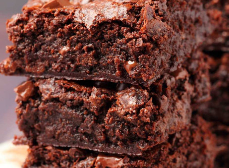 INFUSED VEGAN BROWNIES