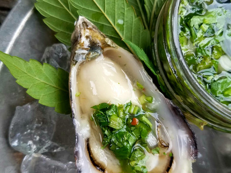 Oysters In The Nude With Angry Water…