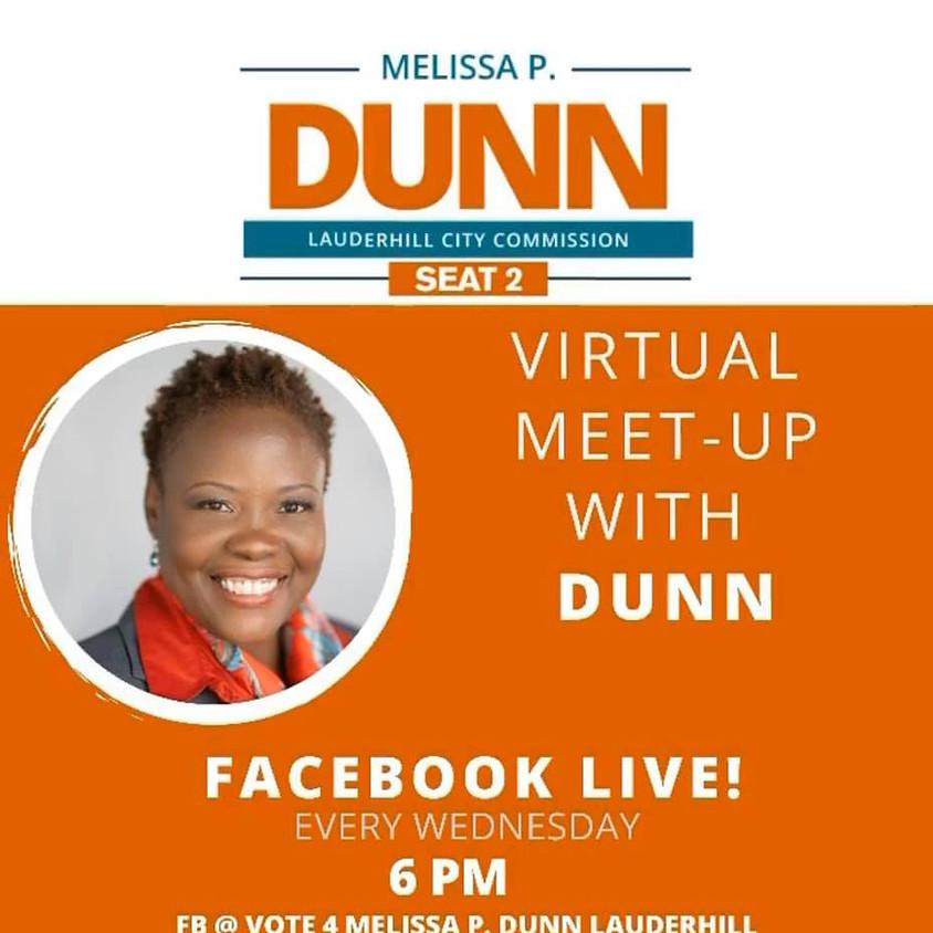 Virtual Meet-Up With DUNN Wednesdays