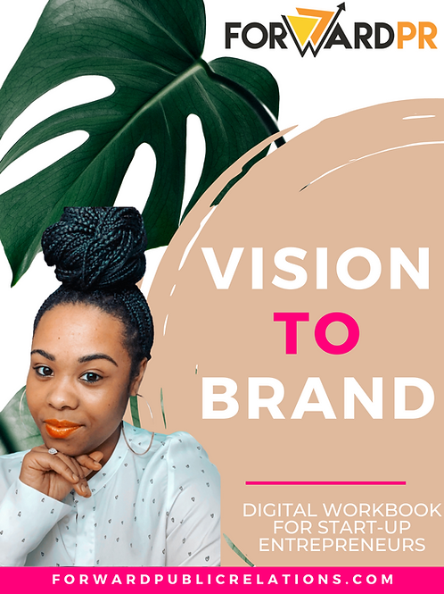 Vision To Brand Workbook + Workshop Replay: For Start-up Entrepreneurs