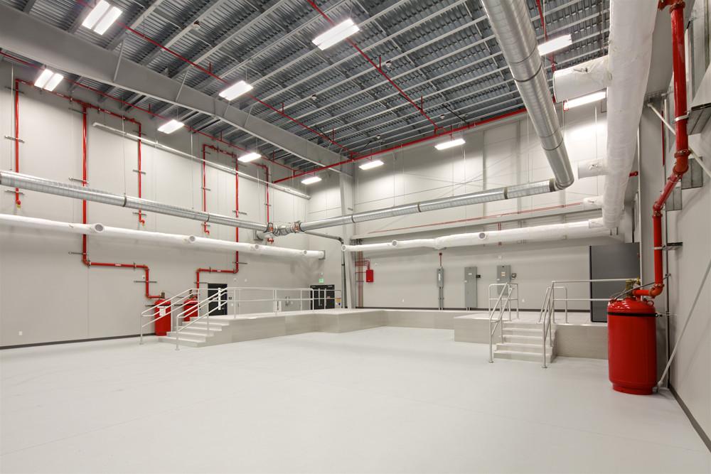 An interior view of the P-947 MH-60 Trainer Facility at Naval Base Coronado San Diego