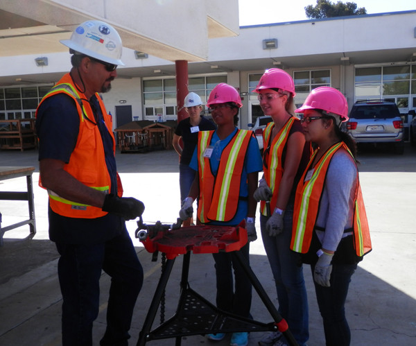 Introducing young women in high school to construction careers like at Camp NAWIC is one way to encourage more women to pursue the profession.