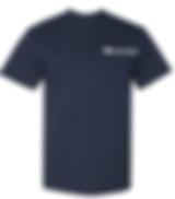 Front of Navy Short Sleeve Tshirt_EDIT.p