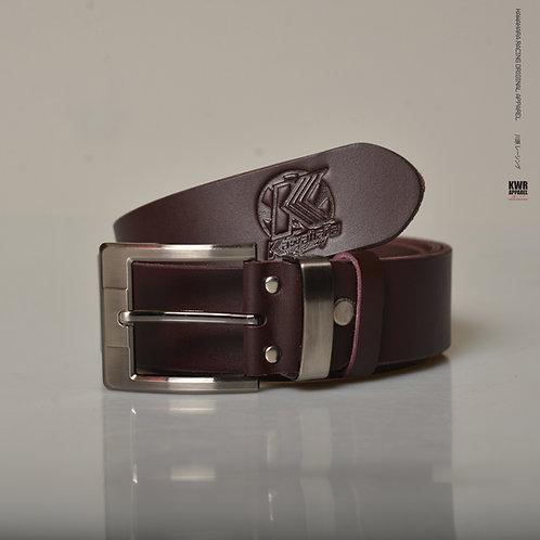 KWR Leather belt brown
