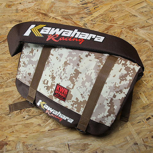 BAG 03 Messenger Camo Brown