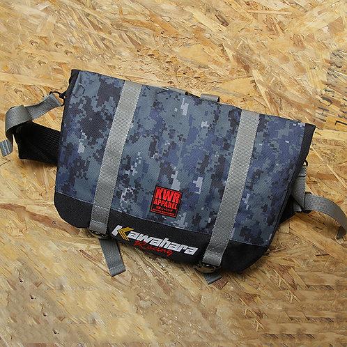 BAG 03 Messenger Camo Blue