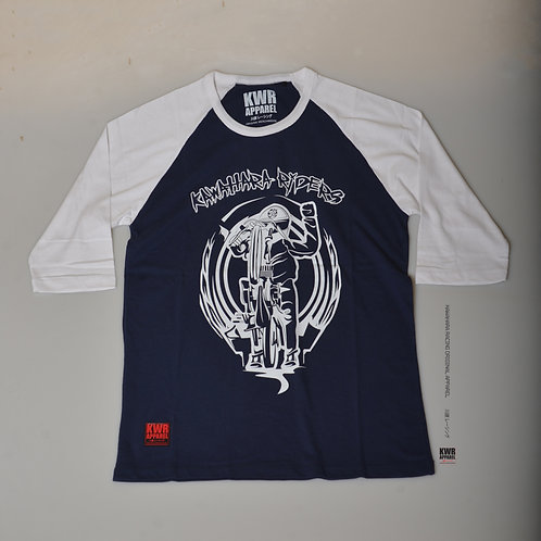 KWH L's 10 standing rider navy blue