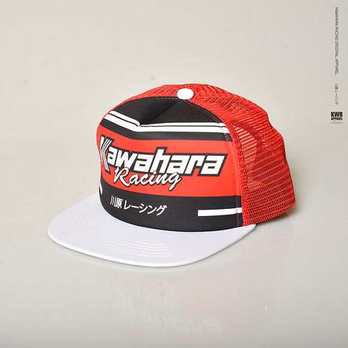 Trucker 07 Sublim Red White