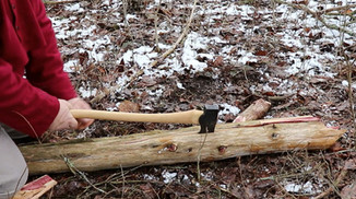 How to use an ax
