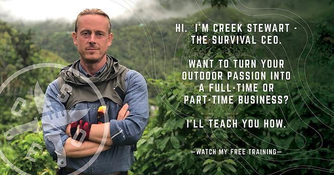 Creek Stewart Survival CEO