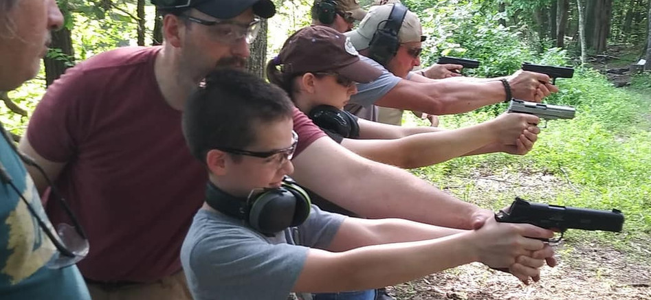 Family Firearms Class
