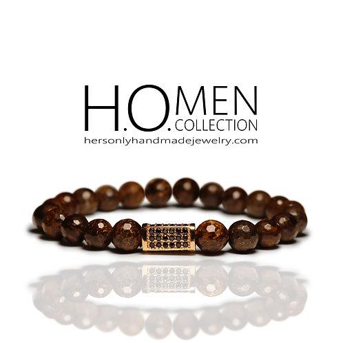 Golden Earth - Men bracelet