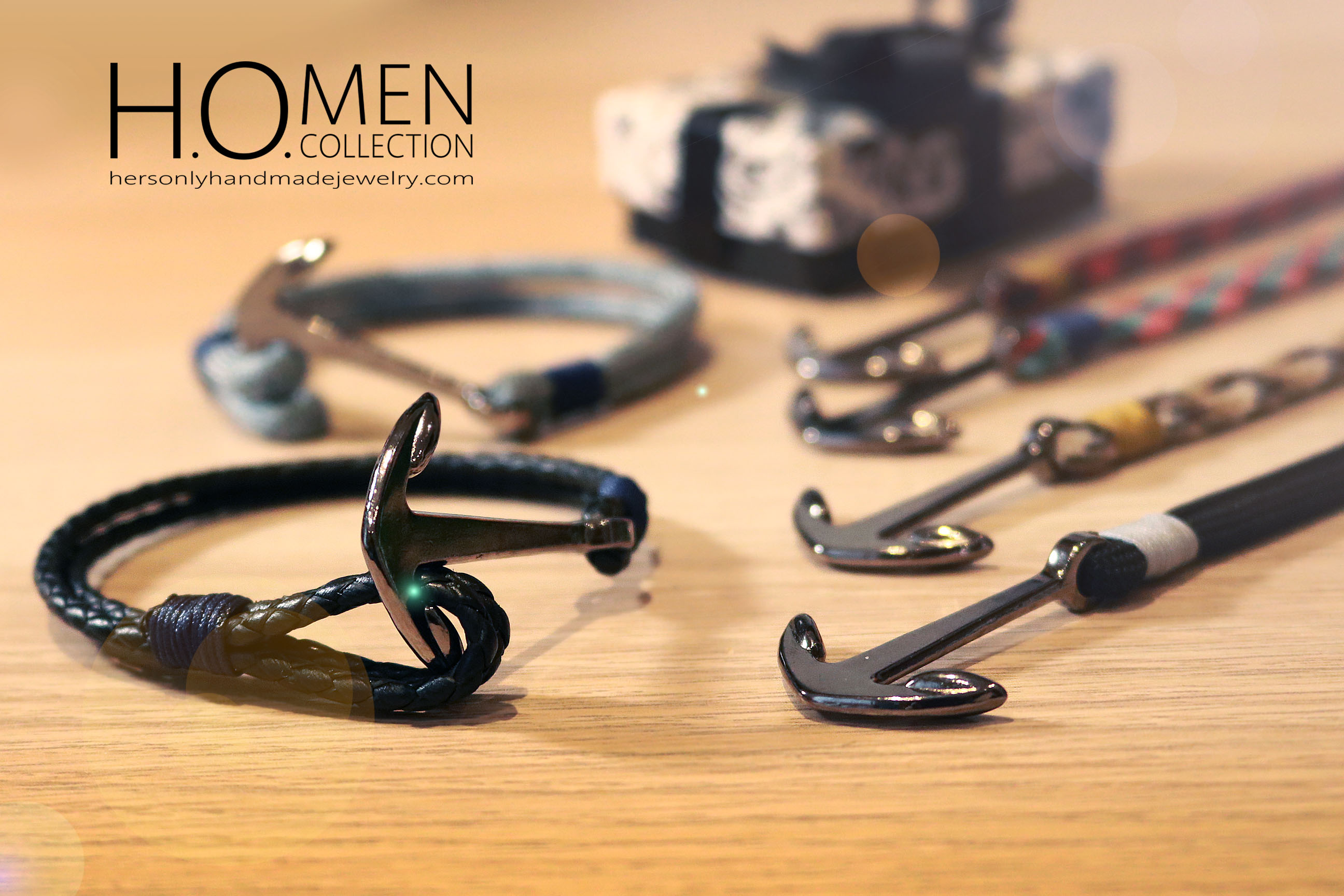 Men bracelet collection