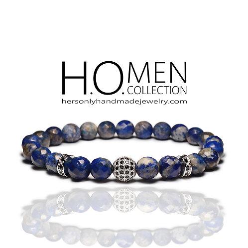 Navy Sphere Men Bracelet