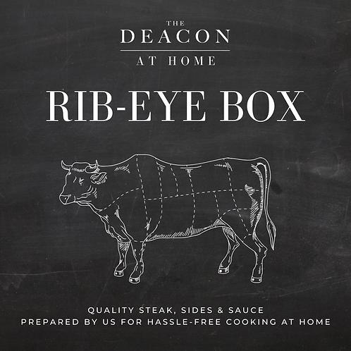 Rib-Eye Steak Box For Two