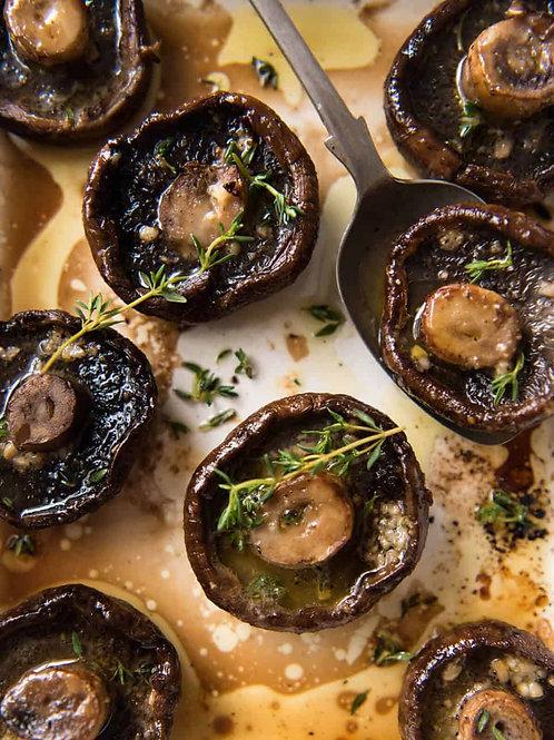 Roast Field Mushrooms - Steak Box Side