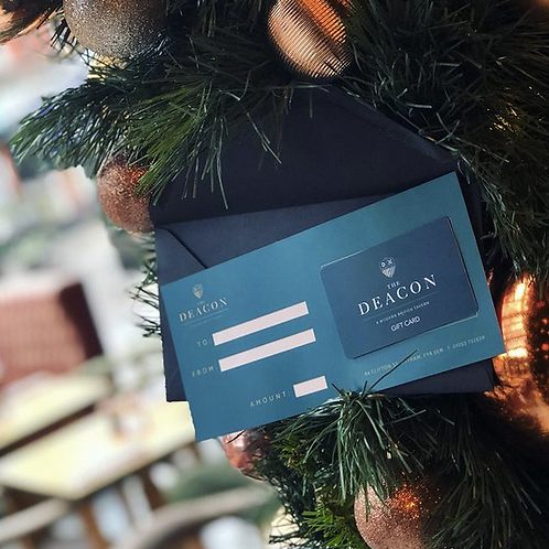 The Deacon Gift Card