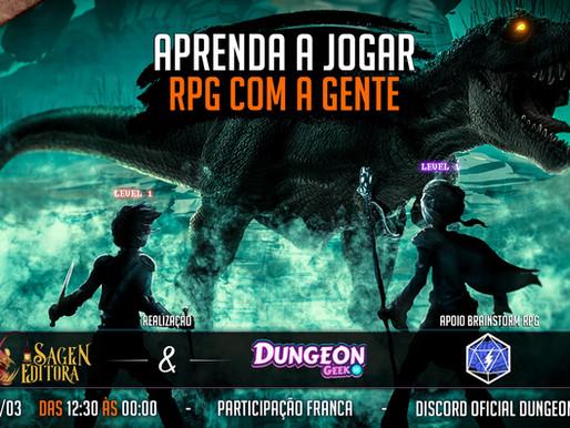 Nos dias 05 e 06 de Março a Ethernalys estará no 3º Descobrindo o RPG!