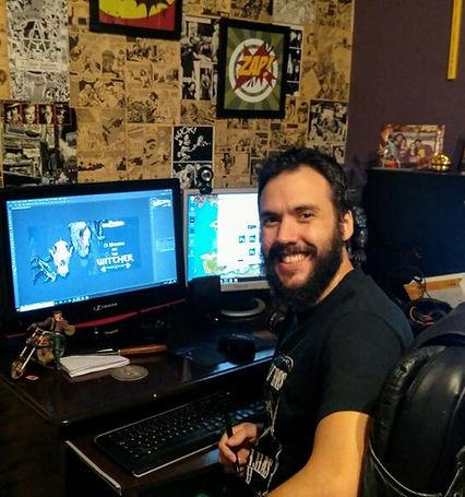Lobo Loss - Fundador da Ethernalys RPG