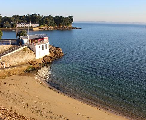 location vacances douarnenez plage et commerces à 5 min
