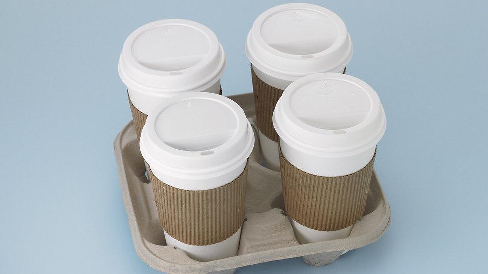12ou Coffee Tea or Hot Chocolate