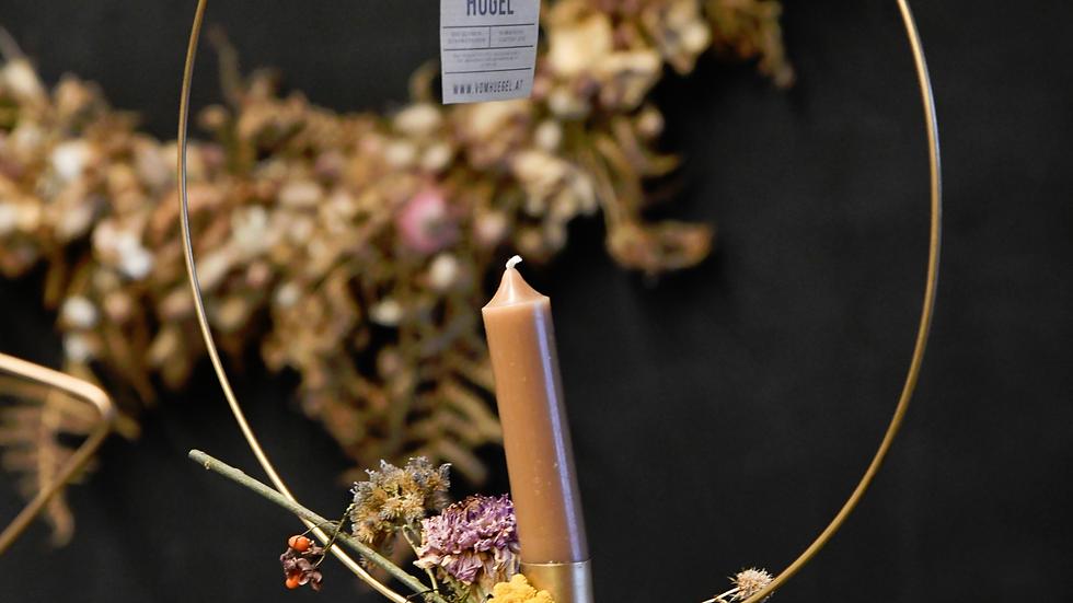 DIY PAKET Ring mit Kerze