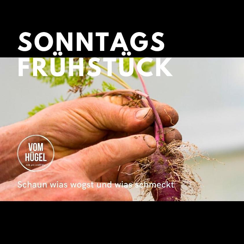 AUSGEBUCHT!! - SONNTAGS FRÜHSTÜCK mit Gartenführung - schaun wias wogst