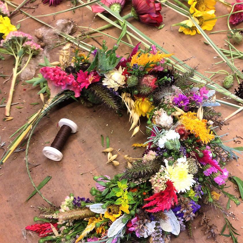 Wilde Kränze aus Blüten und Kräutern - Nachmittagsworkshop