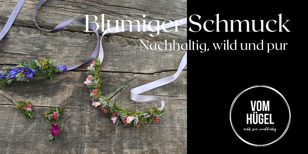 ONLINE Workshop : Schmuck aus Blüten und Kräutern