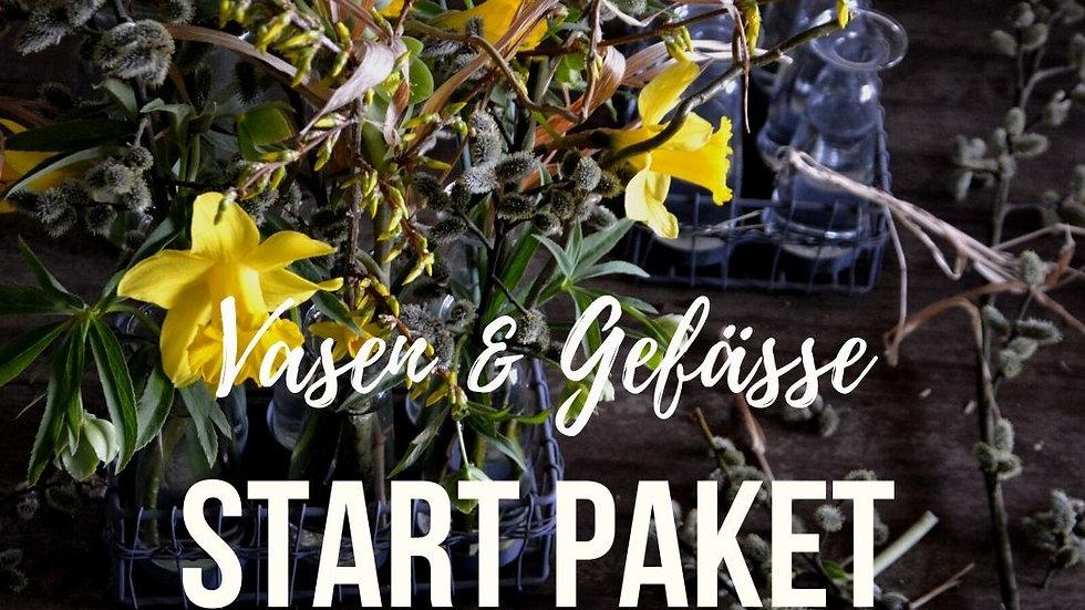 START PAKET Vasen und Gefäße