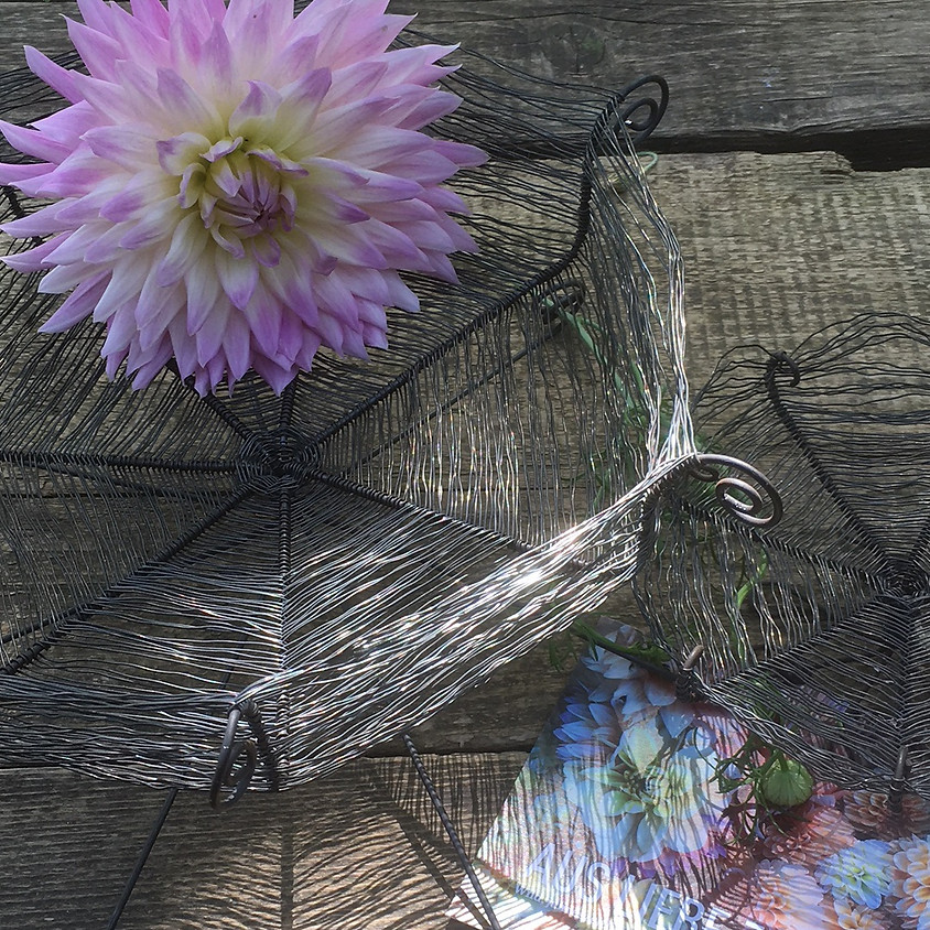 Blütendekorationen und Kunstwerke aus Draht - Nachmittagsworkshop
