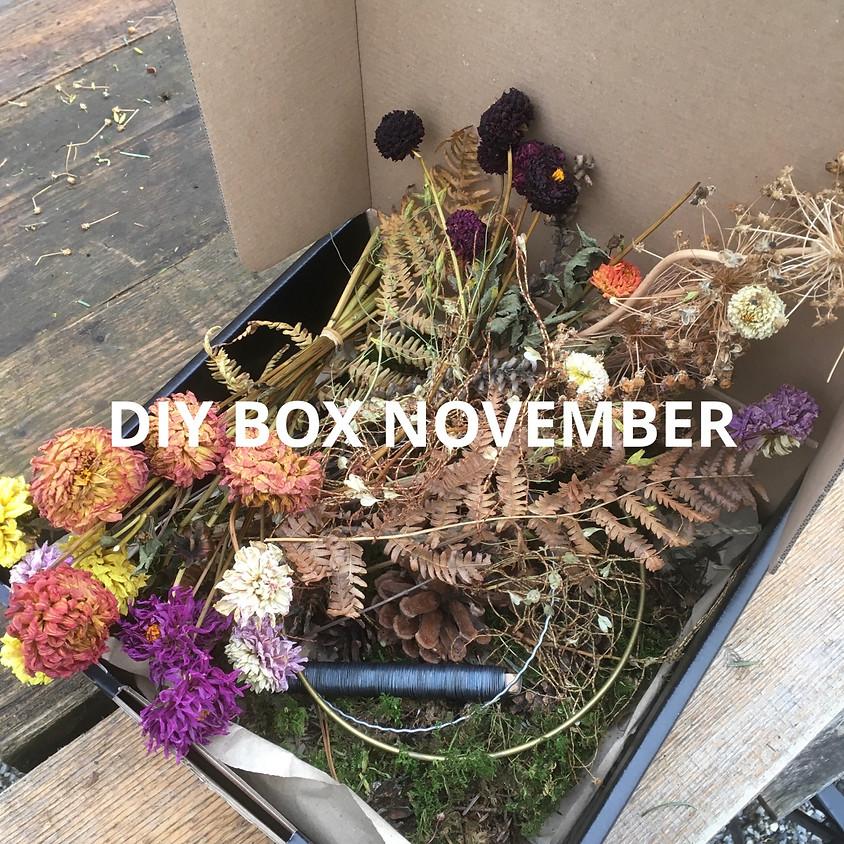 DIY BOX NOVEMBER Kranzerl Vielfalt
