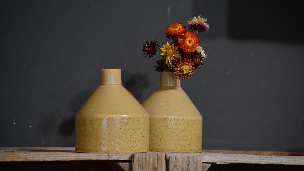 Keramik Vase gelb