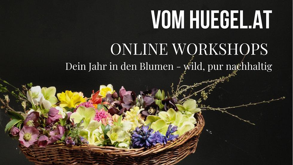 GUTSCHEIN Jahrespaket ONLINE WORKSHOPS