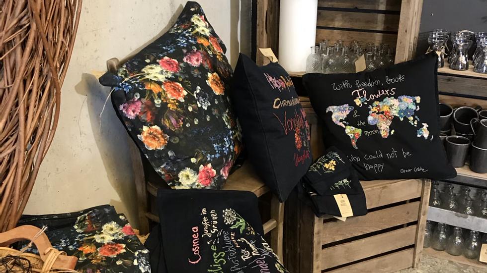 Kissen Blumenpracht, bedruckt