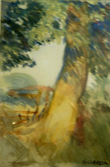 Sir George Clausen, Landscape