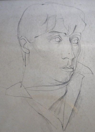 John Minton, Self portrait
