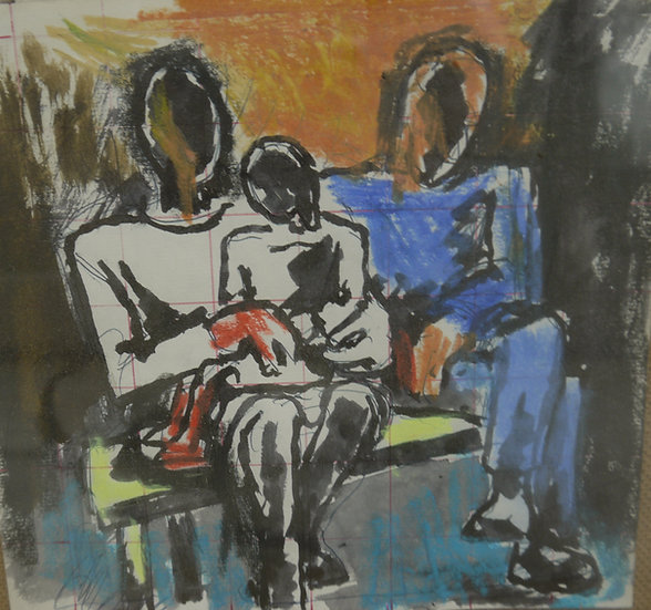 Josef Herman, Family Scene