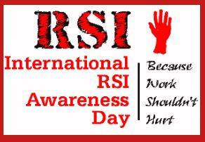 2/29 is International RSI Awareness Day