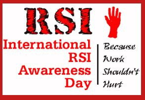 2/29 is International RSI Awareness Day
