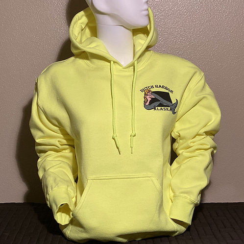 Safety Yellow Pullover Hoodie