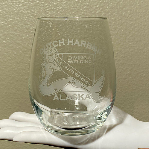 Mac Enterprises Wine Glass